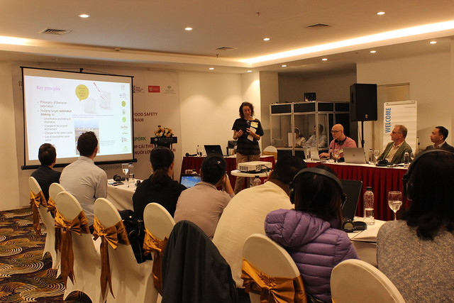 Nudge workshop in Hanoi on 27 November 2018