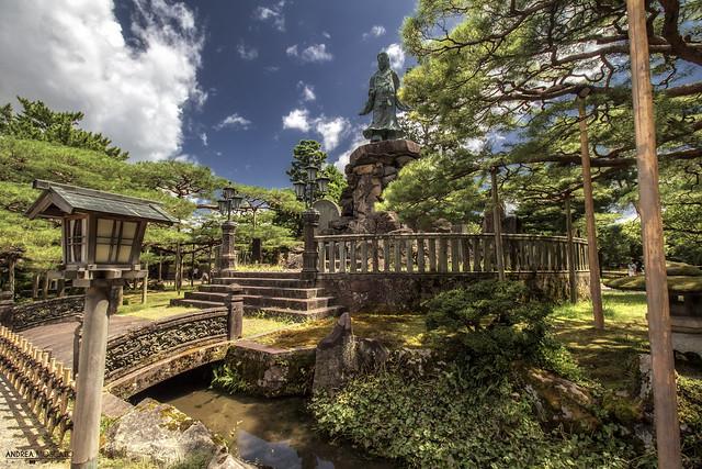 Meijikinen Monument, Kenrokuen Garden - Kanazawa (Japan)