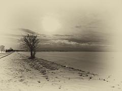 neige en Picardie