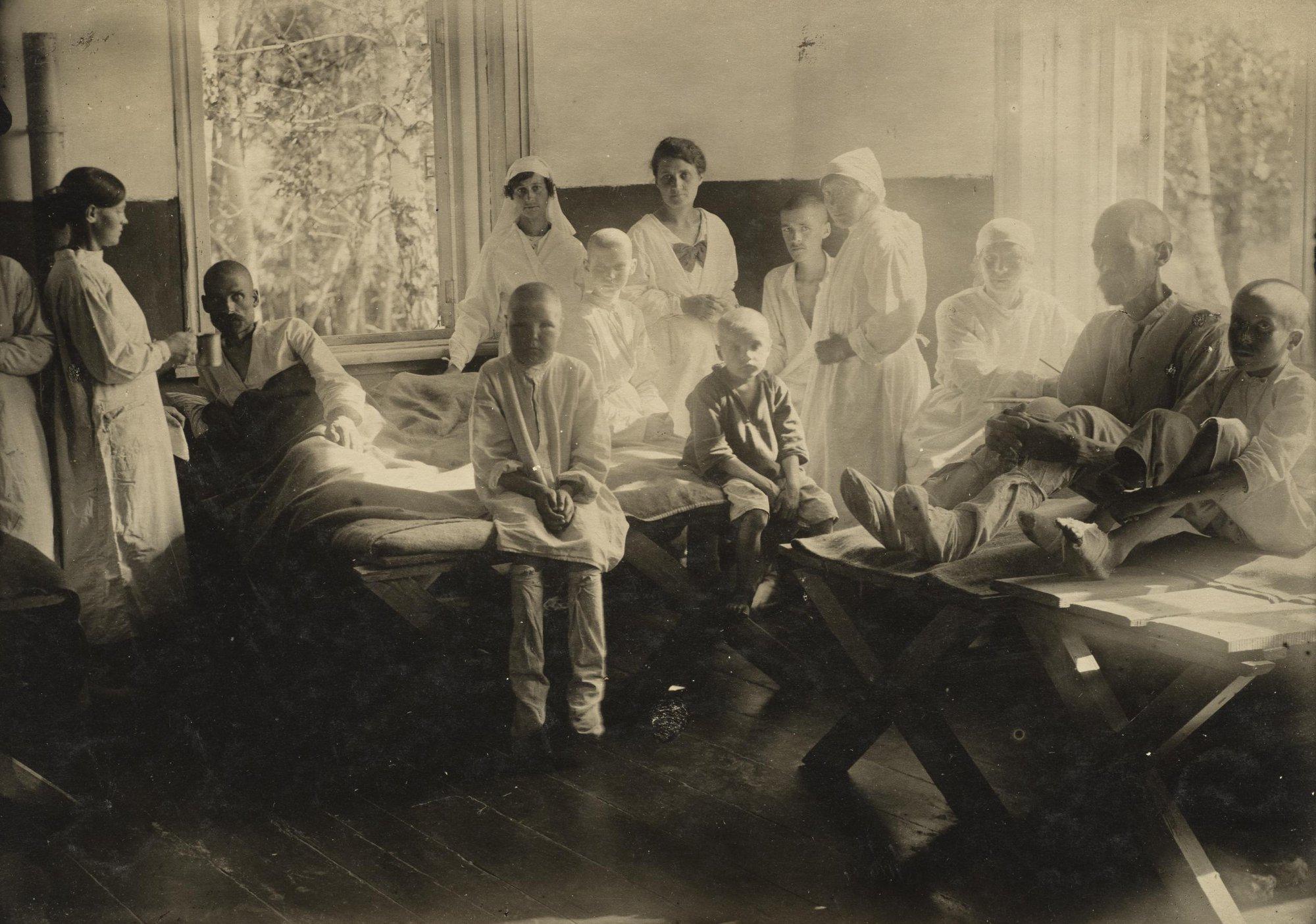 Никольская больница. Палата. Самарская губ., Мелекесский уезд