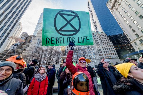 Extinction Rebellion Day One – #ClimateShutdown to Shake New York