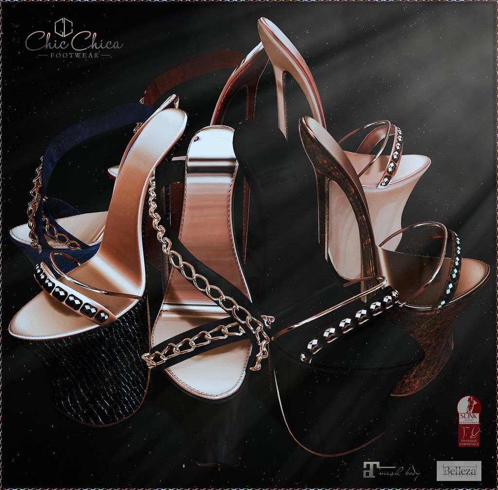 Dita and Solange by ChicChica for The Saturday Sale. 50 lindens