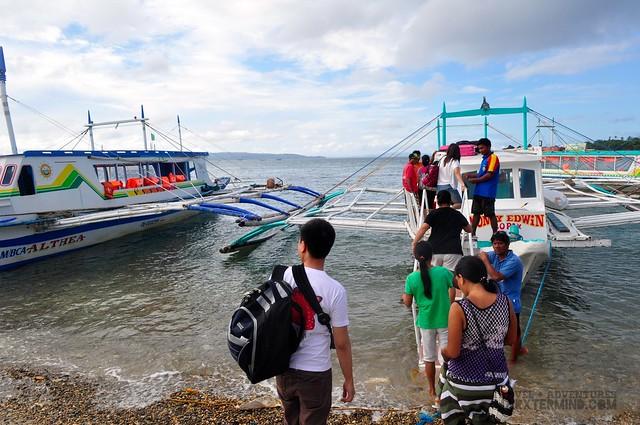 Boat to Boracay Island