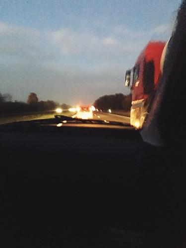 Heading to work