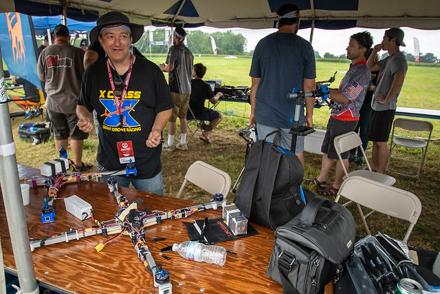 X Class Drone Racing - Model Aviation magazines