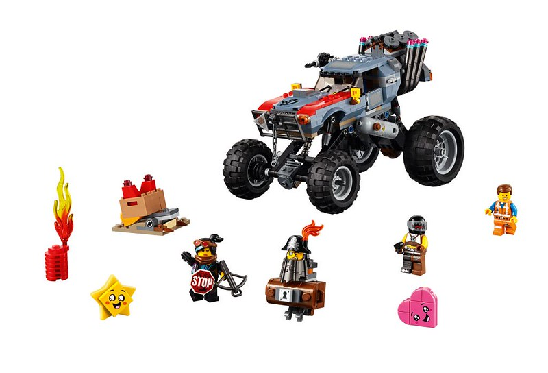 Emmet and Lucy's Escape Buggy (70829)