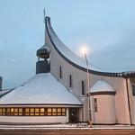 018Nov 27: Holy Spirit Church Snowy Evening