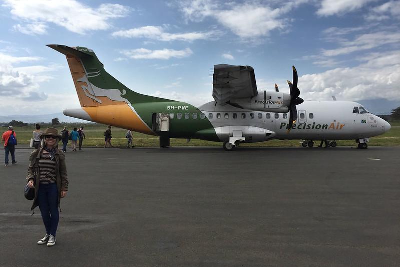 Precision Air ATR 42-500 to Zanzibar