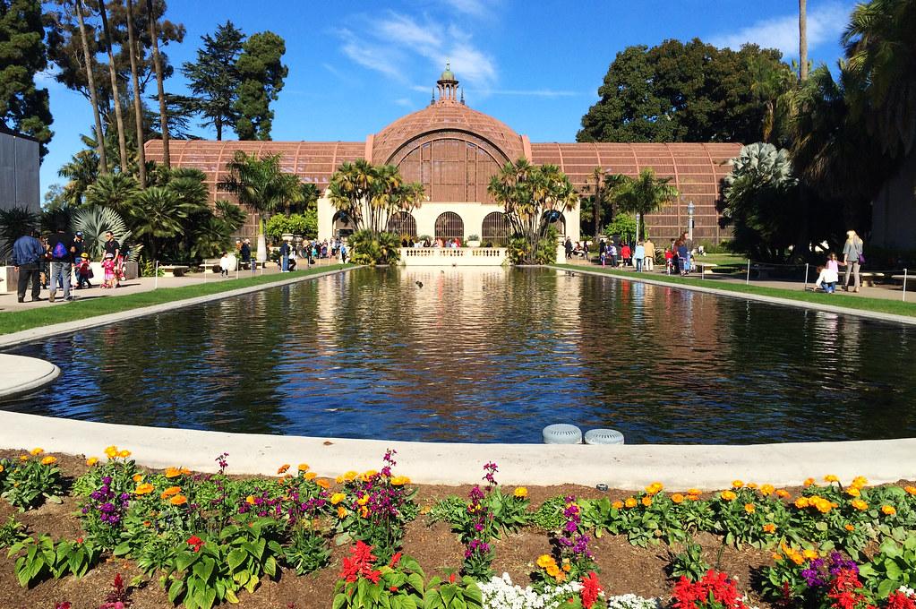 Botanical Building in Balboa Park, San Diego, CA, USA