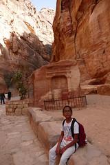 Through the Siq in Petra (1)