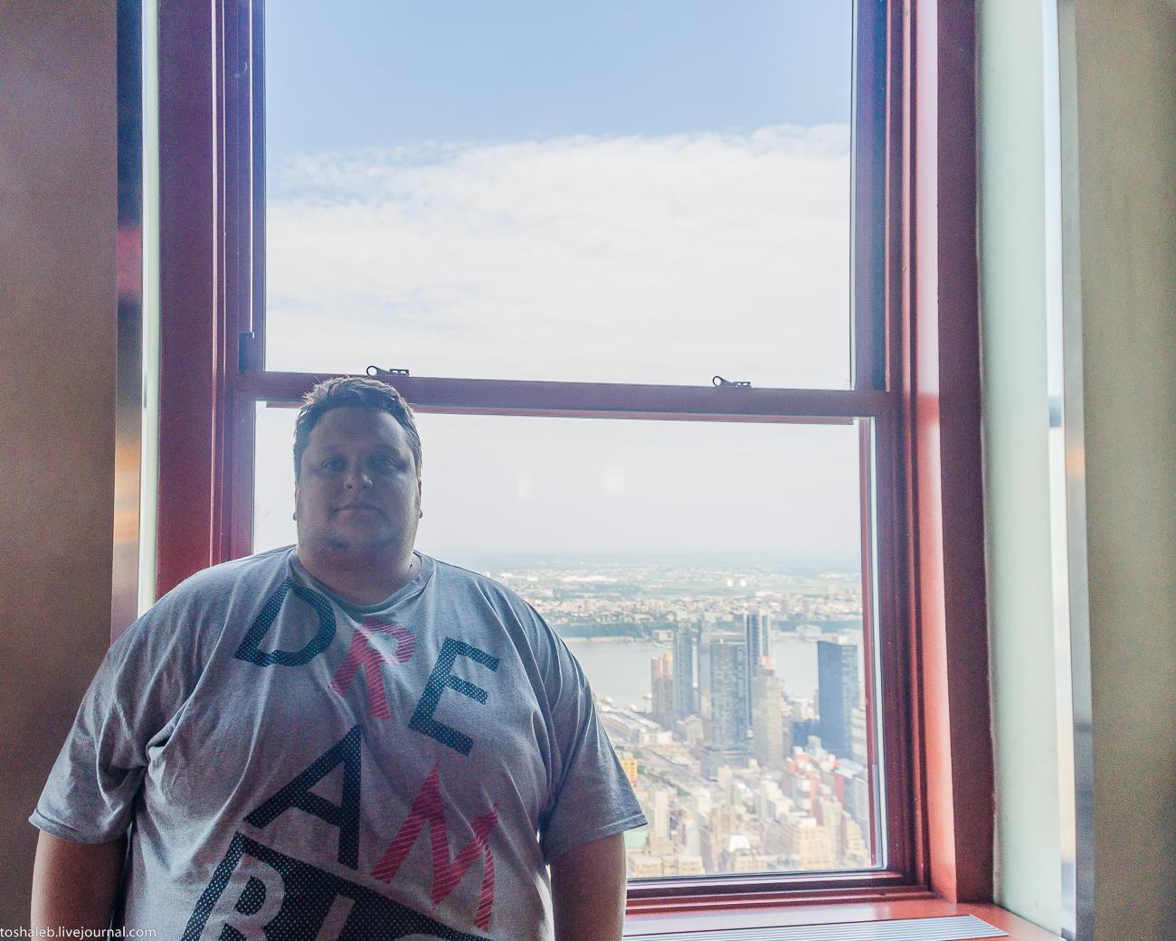 Нью-Йорк_Empire State Building-6