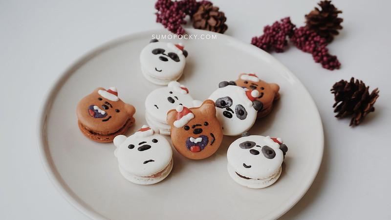 We Bare Bear Macaron Recipe