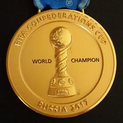 2017 FIFA Confederations Cup Gold Medal obverse