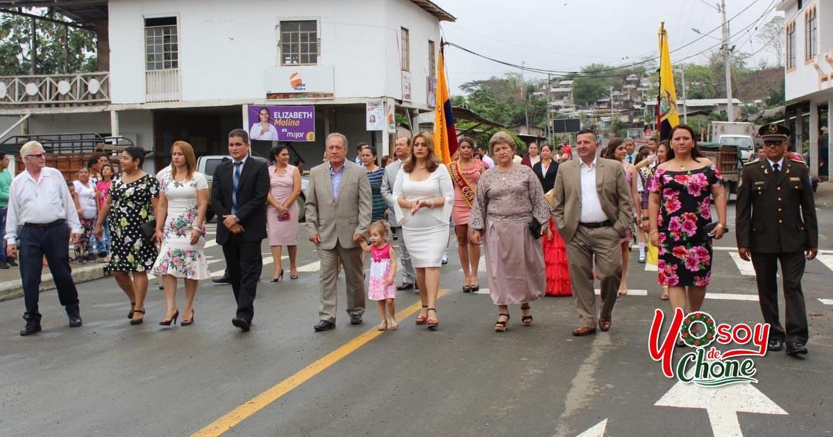 Con desfile y Sesión Solemne Convento celebró este jueves 13 de diciembre sus 64 años de vida parroquial