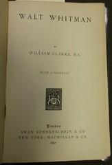 Penn Libraries 811W YCla: Title page