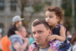 Little Girl and Her Daddy | by Hattifnattar