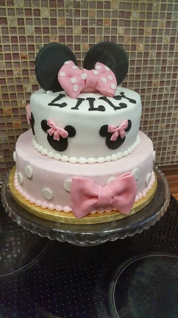 Minnie Mouse Cake for a Little Princess by Daniela Vampiro
