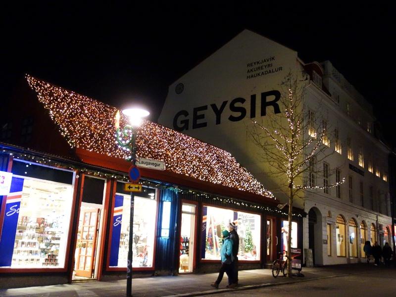 Reykjavik in Christmas