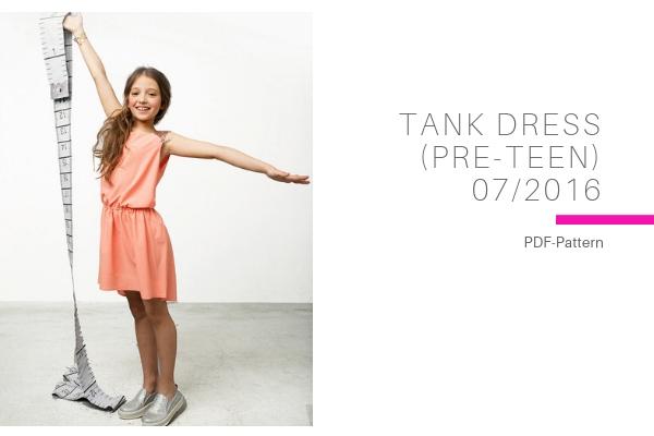 Tank Dress Pre Teen
