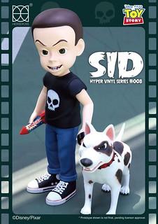 玩具們的巨大夢魘終於降臨!! HEROCROSS HVS 系列《玩具總動員》阿薛 Toy Story Sid  高60公分巨大登場~