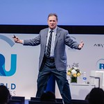 Jim Caroll during the Plenary session 2 at IRU World Congress in Muscat, Oman