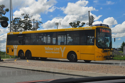 Unidentified Yellow Line Bus