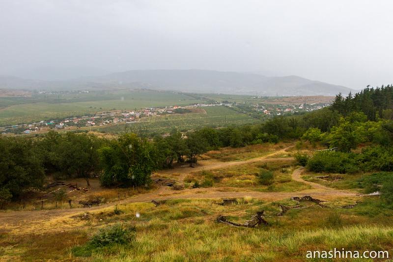 Панорама окрестностей Севастополя с Сапун-горы, Крым