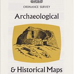 Sun, 2013-09-22 22:05 - A slightly visually livelier look for the c1963 publicity leaflet on archaeological and historical maps produced by the OS. The Survey had its own long history of documenting such landscape features and producing thematic maps on the variopus periods and subjects. The vignette is, I think, off one of the series maps but I don't know the artist?