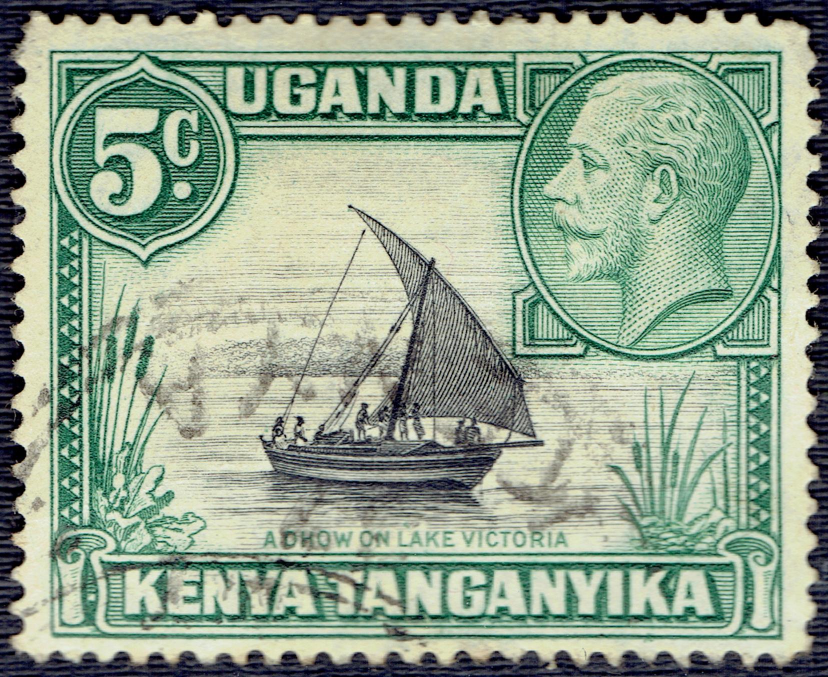 Kenya, Uganda, Tanganyika - Scott #47 (1935)