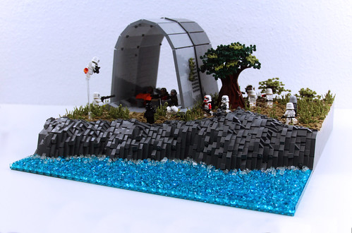 LEGO Star Wars: Rebel Hangar Base on Dantooine MOC!