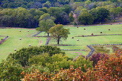 View from East Overlook, pea Ridge National Military Park - Benton County, Northwest Arkansas