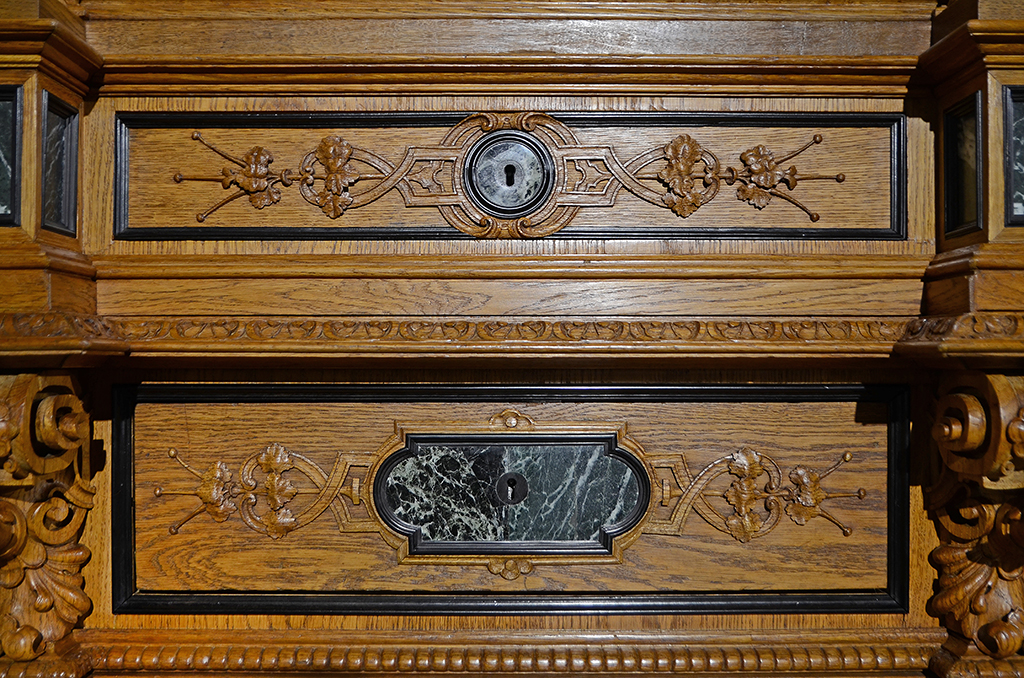 Hunting Style Sideboard 11