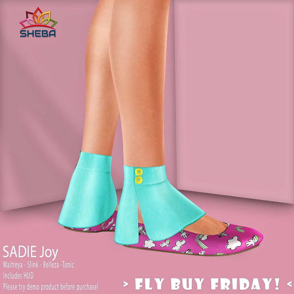 [Sheba] Sadie joy for Fly Buy Friday