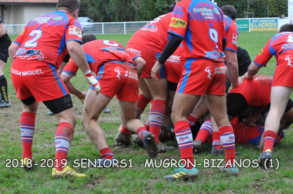2018-2019 SENIORS 1 MUGRON-BIZANOS