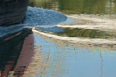 Abstrait à l'eau