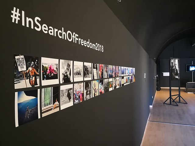 In Search of Freedom - Exhibition in Barcelona