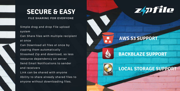 ZipFileMe v2.5.1 – Secure and Easy File sharing