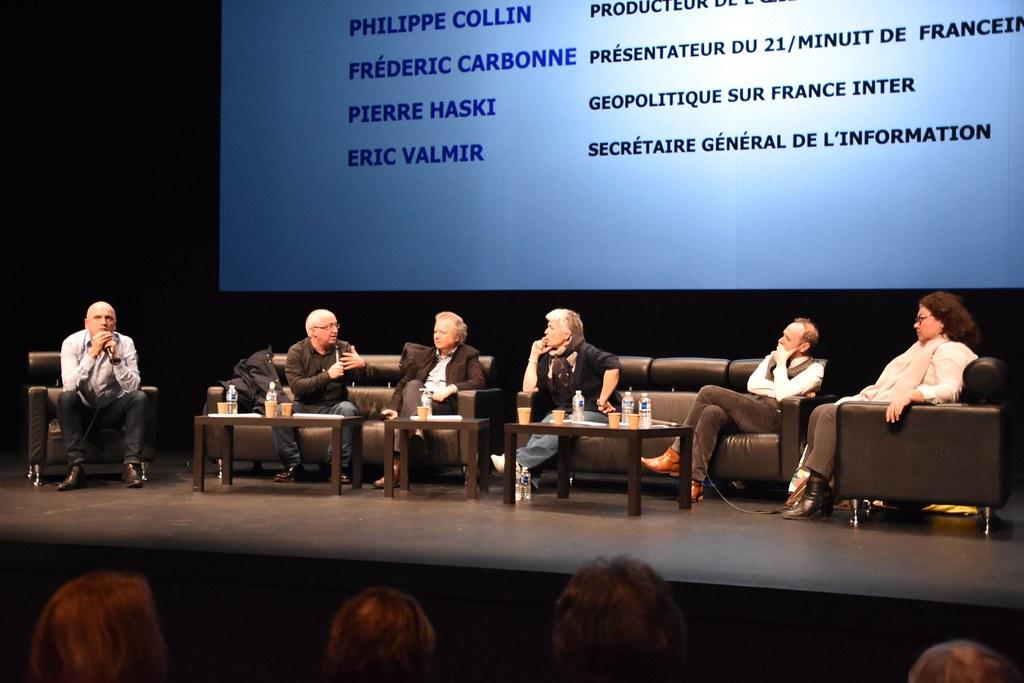 « « Parlons info » avec les journalistes de Radio France »
