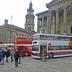 Ribble buses on parade