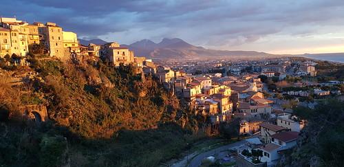 A view over Scalea, Calabria