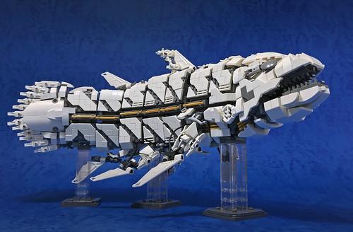 LEGO Mecha Coelacanth-04