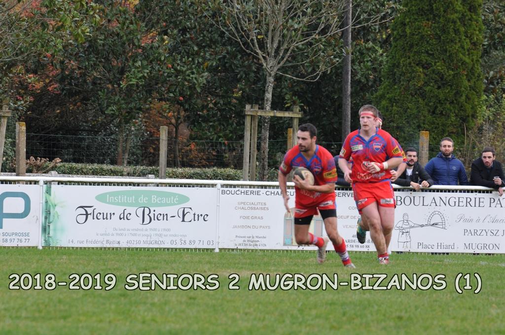 2018-2019 SENIORS 2 MUGRON-BIZANOS