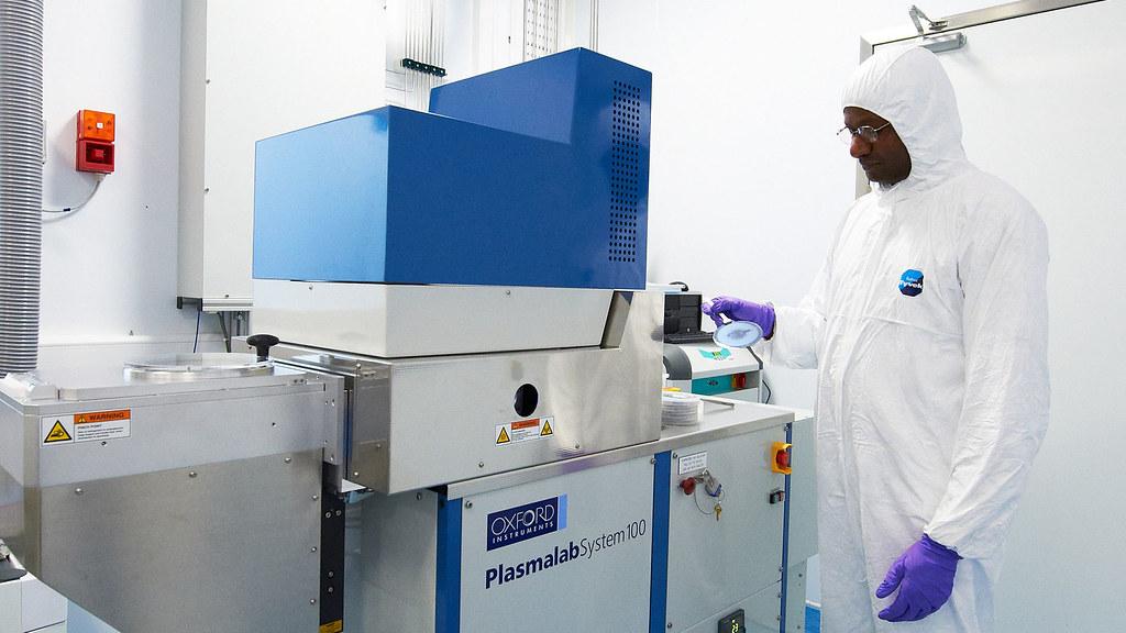 Nanofabrication facility: etching