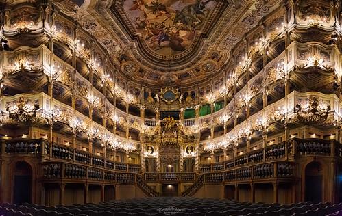Yesterday's glory - Markgräfliches Opernhaus, Bayreuth, UNESCO World Heritage
