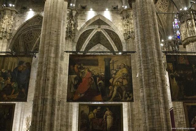 Duomo di Milano: Quadroni di San Carlo