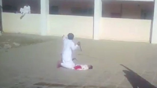 4055 Saudi Father arrested for trying to murder his newly born son 03