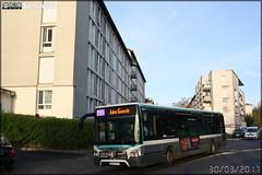 Iveco Bus Urbanway 12 - RATP (Régie Autonome des Transports Parisiens) / STIF (Syndicat des Transports d'Île-de-France) n°8895