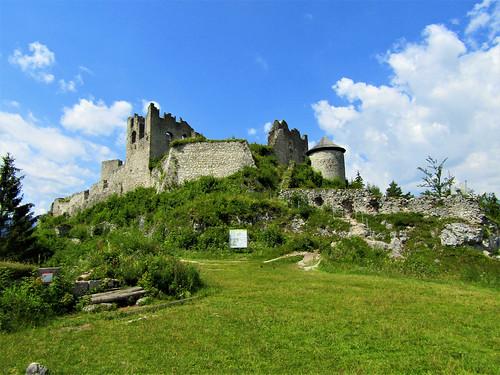 ruins of Ehrenberg Castle in Reutte