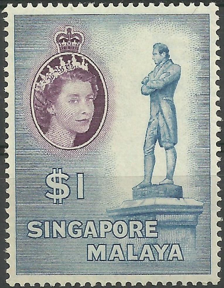 Singapore - Scott #40 (1955)