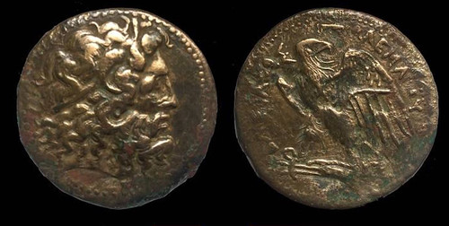 Ptolemaic era coins discovered in an ancient wine cellar